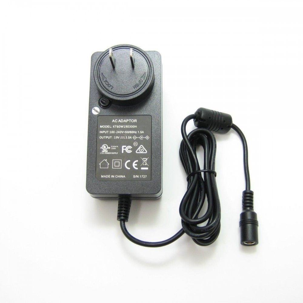 57W High-Power AC Adapter for Power Cord Clamp  181obs