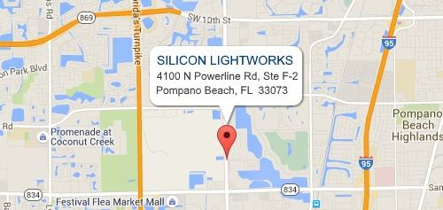 Silicon Lightworks Location Map